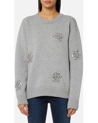 Michael Kors - Michael Women's Star Gem Sweatshirt - Lyst
