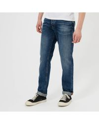 48dcd84e Nudie Jeans Co Fearless Freddie Jeans Crispy Clear Wash in Blue for ...