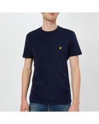 Lyle & Scott - Marl T-shirt - Lyst