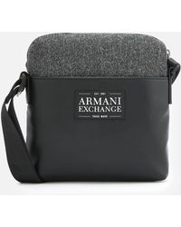 Armani Exchange - Small Cross Body Bag - Lyst