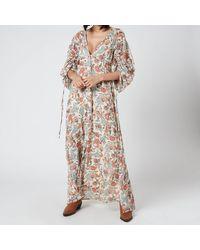 Free People Earthfolk Maxi Dress - Multicolor