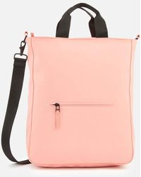 Rains Cross Body Tote Bag - Pink