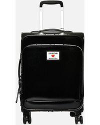 Love Moschino Small Trolley Case - Black