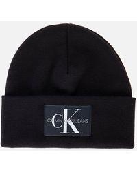 Calvin Klein Beanie Institutional - Black