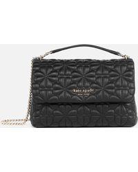 Kate Spade Bloom Quilt Small Shoulder Bag - Black