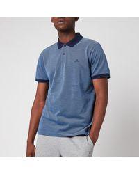GANT Oxford Pique Polo Shirt - Blue