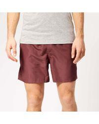65175b28ba adidas Originals 3sa Swim Shorts In Short Length Bj8814 in Red for ...