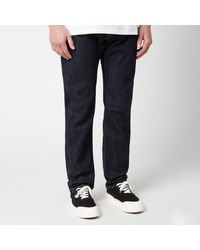 Edwin Ed-55 Red Listed Selvedge Regular Tapered Jeans - Blue