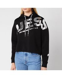Guess Isadora Fleece Hoody - Black