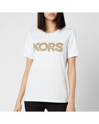 MICHAEL Michael Kors Kors Studded Classic T-shirt - White