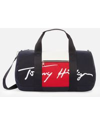 Tommy Hilfiger Signature Duffle Bag - Multicolour