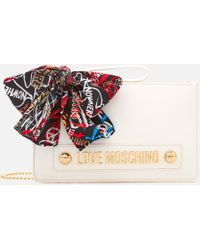 Love Moschino - Small Zip Pouch Bag - Lyst