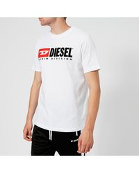 DIESEL Just Division T-shirt - White