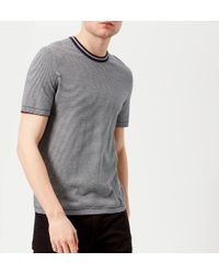 Ted Baker - Time Knitted T-shirt - Lyst