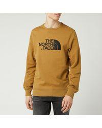 The North Face Drew Peak Light Sweatshirt - Brown
