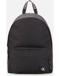 Calvin Klein Campus Round Backpack - Black