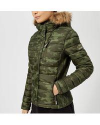 Superdry - Fuji Slim Double Zip Hooded Jacket - Lyst