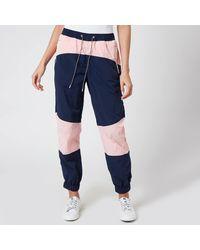 Tommy Hilfiger Tjw Colorblock Sweatpants - Blue
