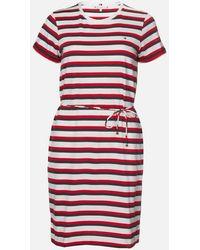 Tommy Hilfiger Angela Regular Short Sleeve Dress - Red