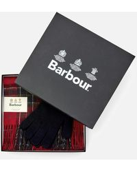 Barbour Scarf And Glove Gift Set - Multicolour
