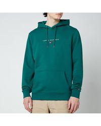 Tommy Hilfiger Essential Pullover Hoodie - Green