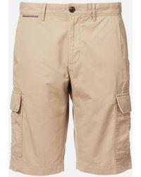 Tommy Hilfiger John Cargo Light Twill Shorts - Natural