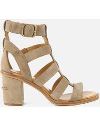 UGG - Macayla Gladiator Heeled Sandals - Lyst
