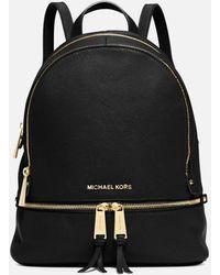 MICHAEL Michael Kors Rhea Zip Medium Backpack - Black