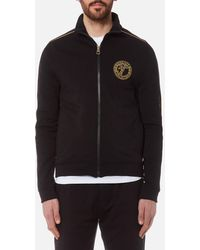 Versace - Zipped Sweatshirt - Lyst