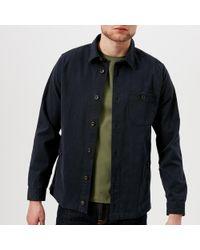 Ted Baker - Keebord Long Sleeve Overshirt - Lyst