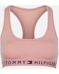 Tommy Hilfiger Original Cotton Bralette - Pink