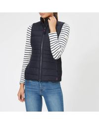 Joules - Fallow Padded Gilet With Funnel Neck - Lyst