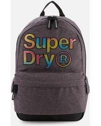 Superdry Rainbow Infill Montana Bag - Grey