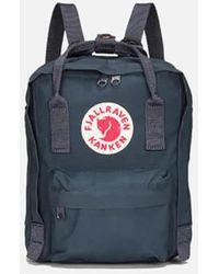 Fjallraven Kanken Mini Backpack - Blue