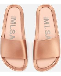 Melissa - Shine Beach Slide Sandals - Lyst