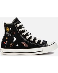 Converse Chuck Taylor All Star It's Ok To Wander Hi-top Sneakers - Black