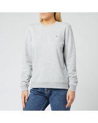 Tommy Hilfiger Heritage Crew Neck Sweatshirt - Grey