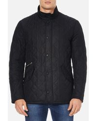 Barbour Chelsea Sportsquilt Coat - Black