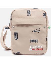 Tommy Hilfiger Campus Print Reporter Bag - Multicolour