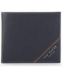 Ted Baker Bifold Wallet - Blue