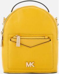 3dfa16d2896 MICHAEL Michael Kors - Jessa Extra Small Convertible Backpack - Lyst
