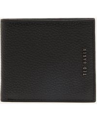 Ted Baker Lyberty Contrast Internals Leather Wallet - Black