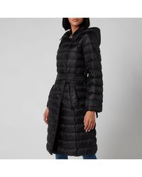 MICHAEL Michael Kors Packable Trench Puffer Coat - Black