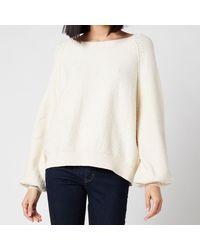 Free People Found My Friend Sweater - White