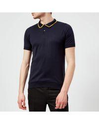 John Smedley - Men's Klerk 30 Gauge Sea Island Cotton Polo Shirt - Lyst
