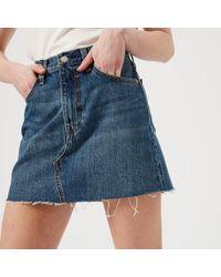 Levi's | Deconstructed Skirt | Lyst