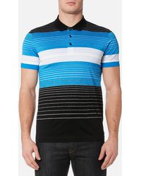 BOSS Green - Paddy 3 Striped Polo Shirt - Lyst