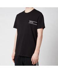 BOSS by Hugo Boss Boss Bodywear Rn 24 Logo Crewneck T-shirt - Black