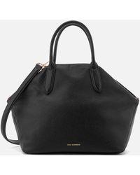 Lulu Guinness Large Peekaboo Lip Valentina Tote Bag - Black