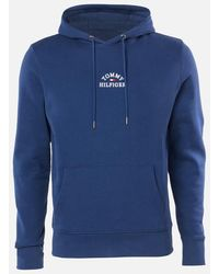 Tommy Hilfiger Basic Embroidered Hoody - Blue